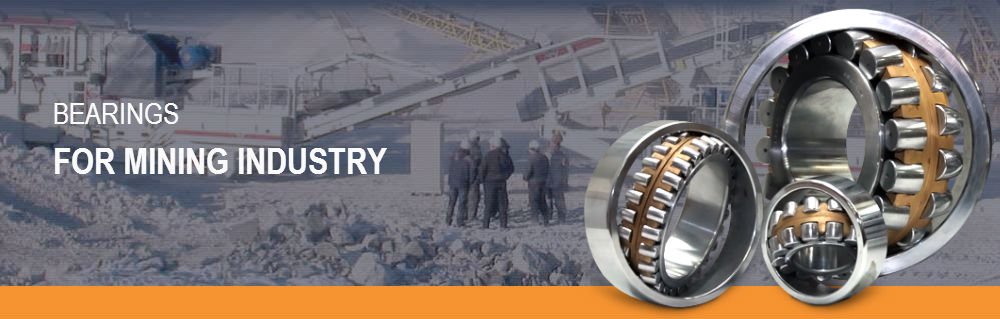 MPZ bearings for mining industry